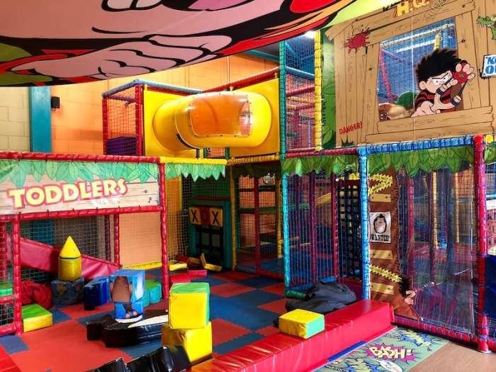 Gordano Gate Brewsters Pub in Portishead -soft play area