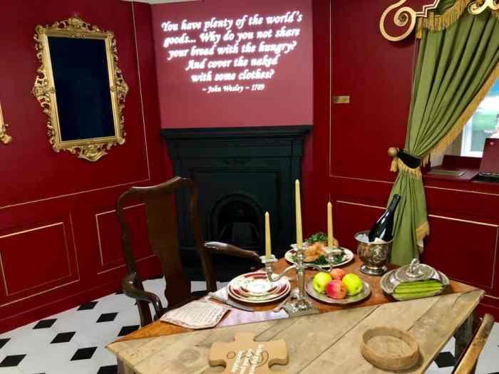 New Room Bristol - inequalities of Georgian Dining