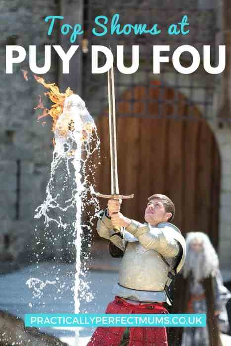 Top Puy du Fou shows