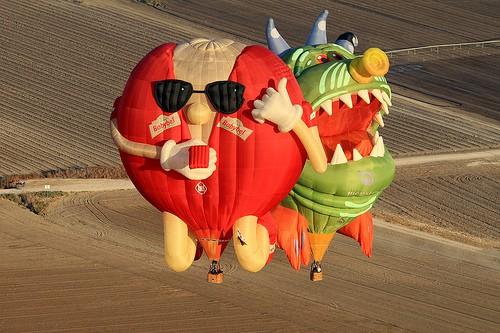 Bristol balloon Fiesta 2012