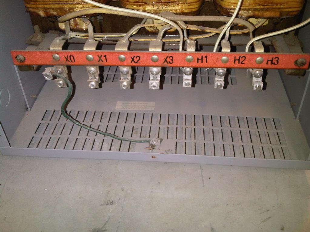 Wiring A 45KVA Step-down Transformer