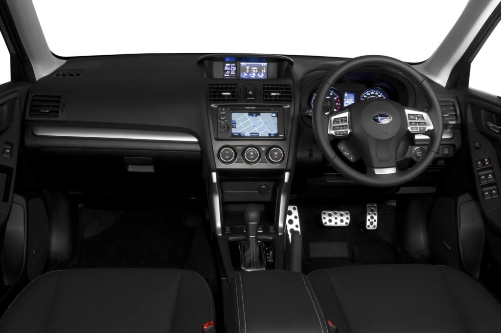 Subaru has improved the quality of the Forester XTs interior out of sight