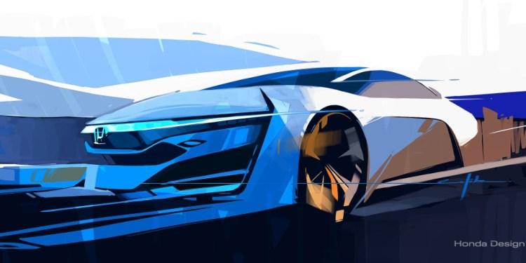 Honda FCEV to make LA Motor Show debut