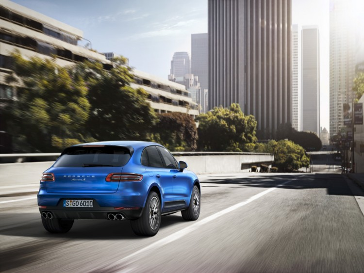 Porsche Macan hopes to ape the sales performance of the Porsche Cayenne
