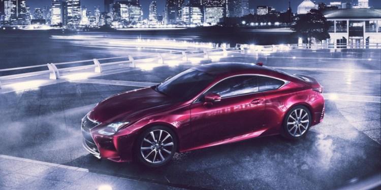 Lexus RC to debut at Tokyo Motor Show