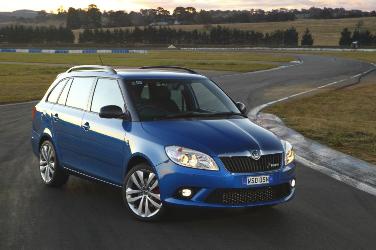 The Skoda Fabia RS Wagon is the practical super mini.