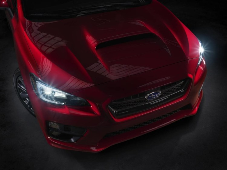 Subaru has released a teaser of the 2015 WRX
