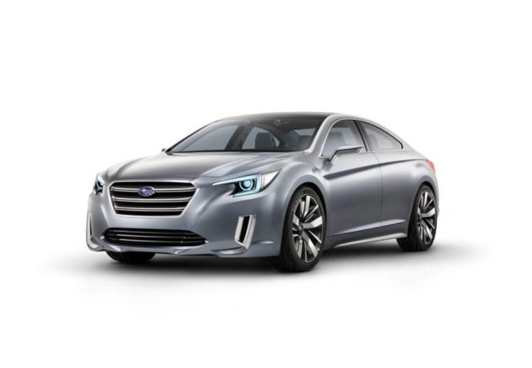 Subaru Legacy/Liberty reveal at LA Motor Show