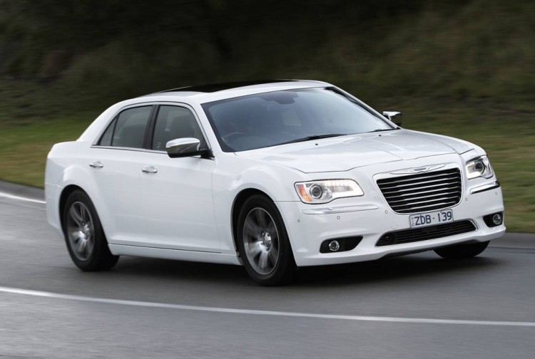 Despite riding on 20-inch alloys, the Chrysler 300C Luxury offers a decent ride