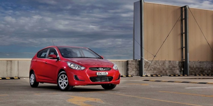 The Hyundai Accent looks like a smaller Hyundai i30. It's priced right, good to drive and roomy enough for a family of four.