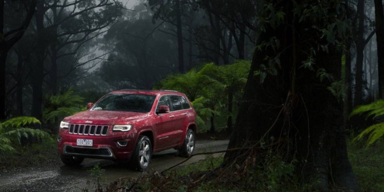The Jeep Grand Cherokee has been revised to look more sophisticated inside and out.