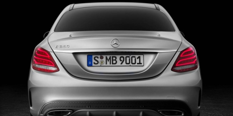 Mercedes-Benz in America is facing a massive potential recall over tail-light faults in the new C-Class