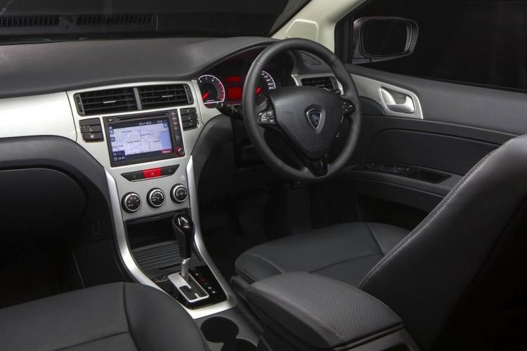 The interior of the Proton Suprima S is impressive