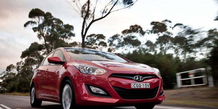 The Hyundai i30 is no Ferrari but it rides and handles beautifully.