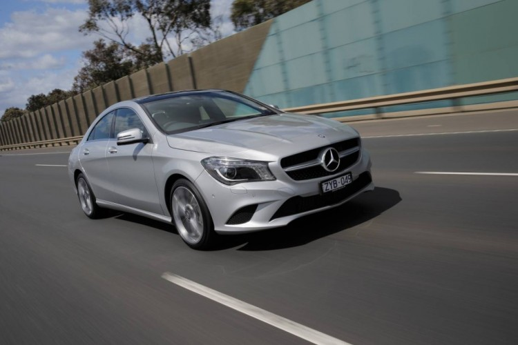 The Mercedes-Benz CLA 200 rides and handles well and the cabin is well insulated