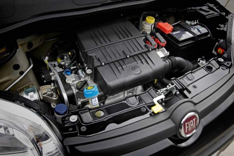 The Fiat Panda Pop's 1.2L four-cylinder is an old-school engine that runs out of puff in the hills