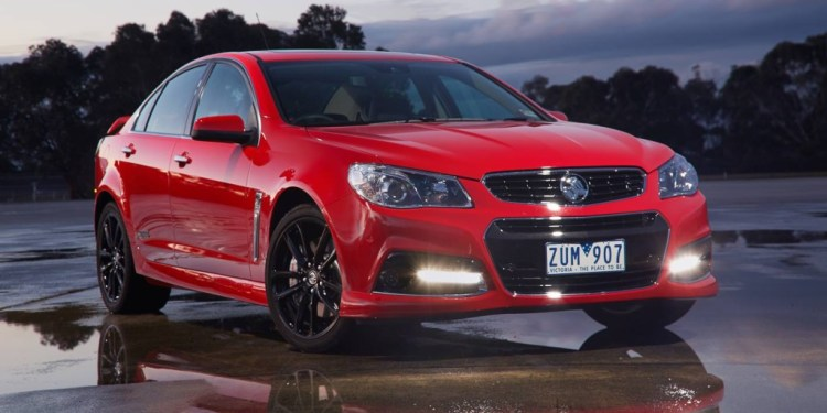 The Commodore SS-V adheres to the European school of performance sedans with conservative styling