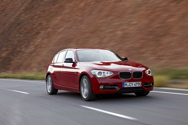 The BMW 116i is a quality package but it's priced a little high