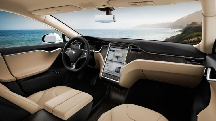 The Tesla Model S sets a benchmark for electric cars