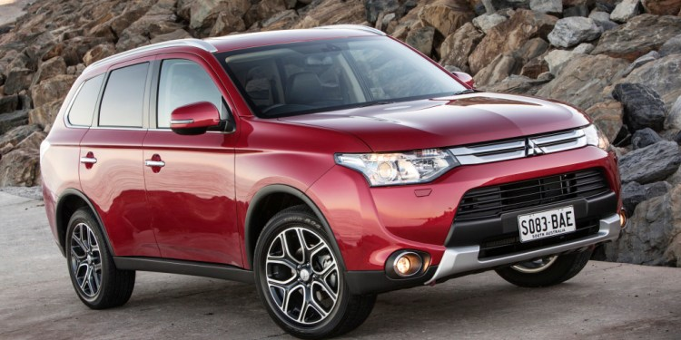 The Mitsubishi Outlander has been refreshed