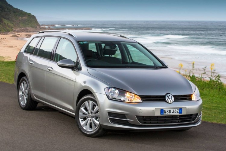 The Volkswagen Golf Wagon is more practical than the Golf hatchback if not quite as attractive