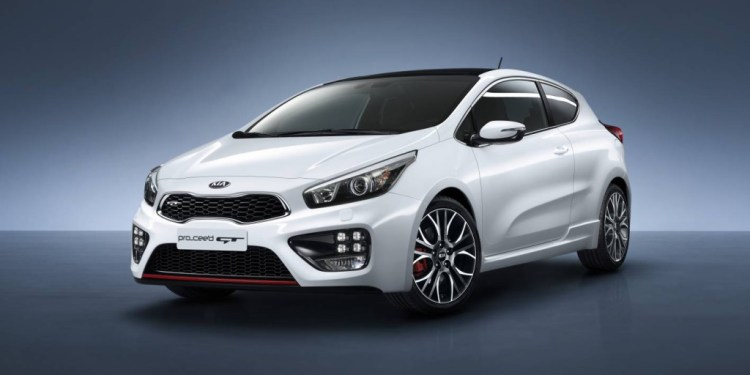 The new Kia pro_cee'd GT