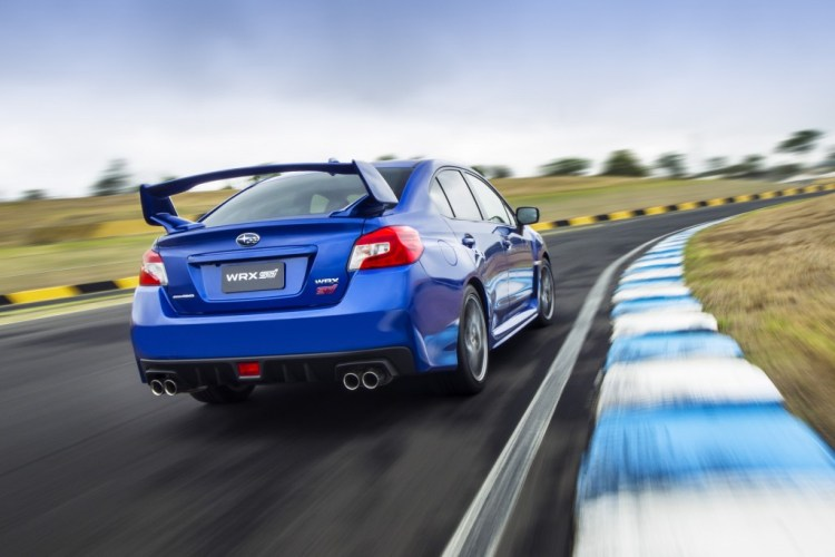 The 2015 Subaru WRX STi in technical detail