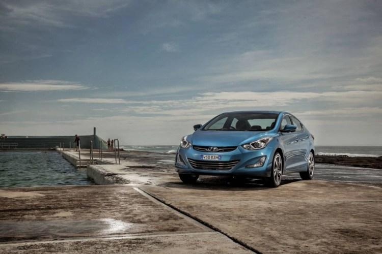 The new Hyundai Elantra Premium
