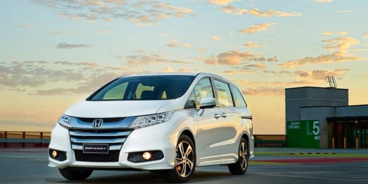 Honda Odyssey opening image