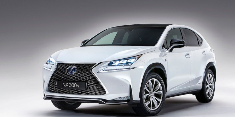The new Lexus NX SUV