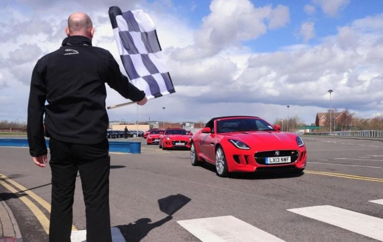 Robert Pepper track tests the Jaguar F-Type