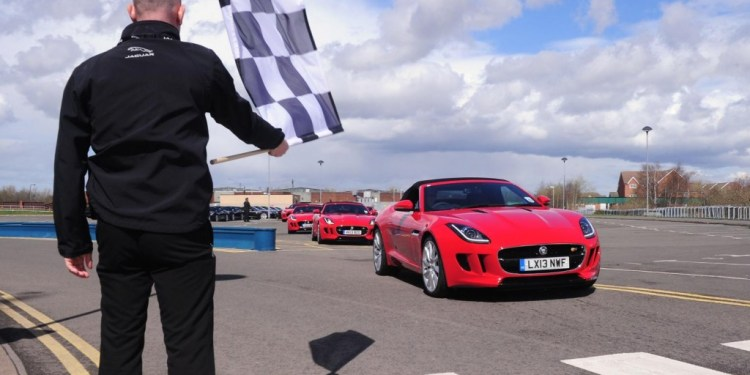 Robert Pepper track tests the Jaguar F-Type