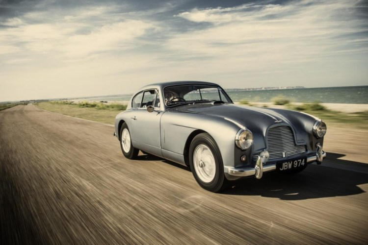 COYS auction house says it's offering the inspiration for the James Bond Aston Martin from Goldfinger