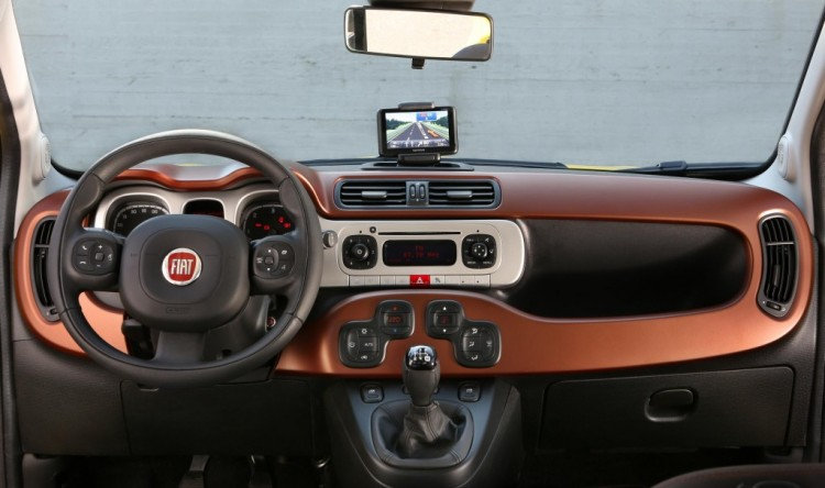 Fiat Panda Cross interior