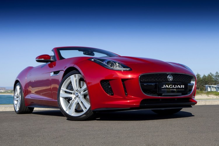 The Jaguar F-Type V6 S convertible