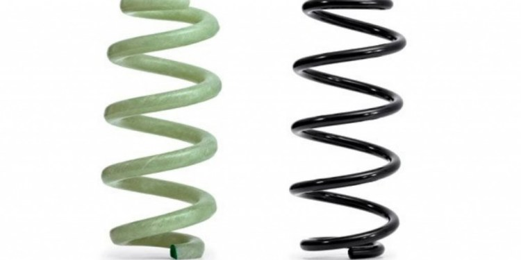 Audi introduces fibreglass coil springs
