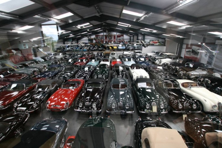 Jaguar buys largest privately owned colleciton of Jaguars in the world