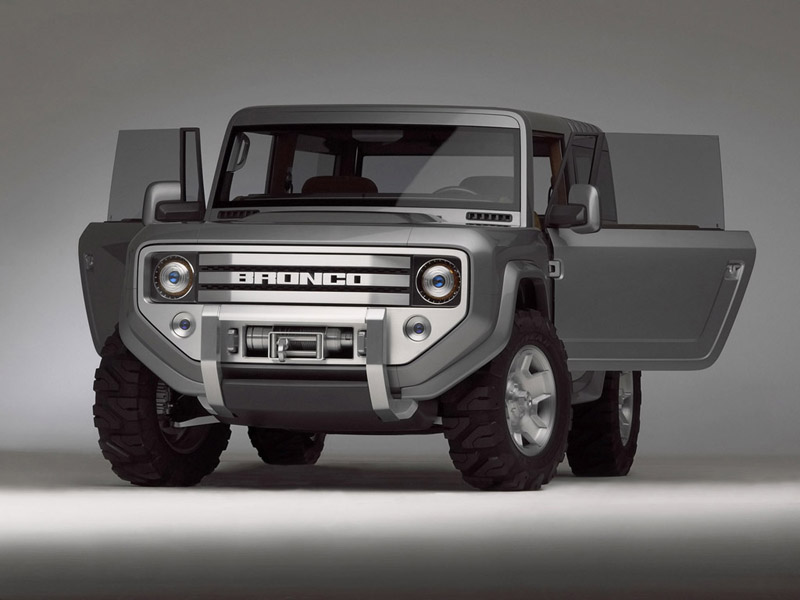 Declassified the design of the updated SUV Ford Bronco