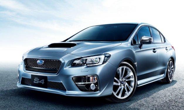 Subaru WRX S4 revealed