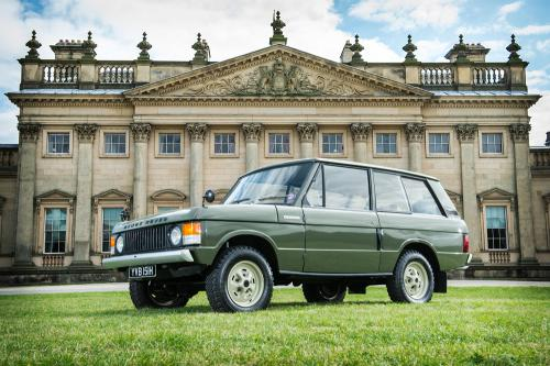 First ever Range Rover goes to auction