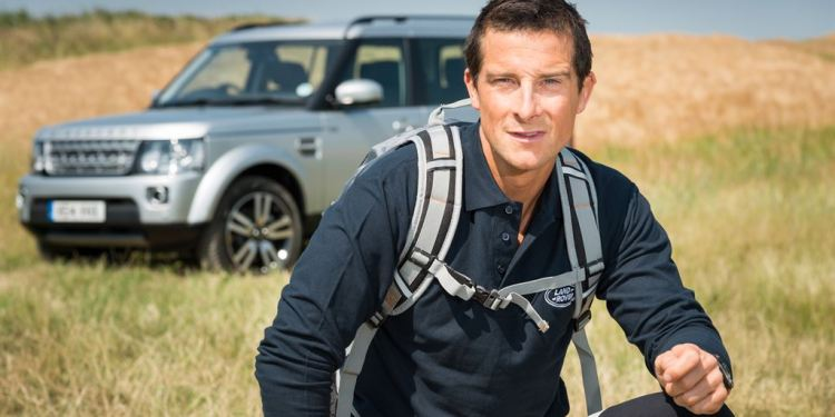bear grylls joins land rover