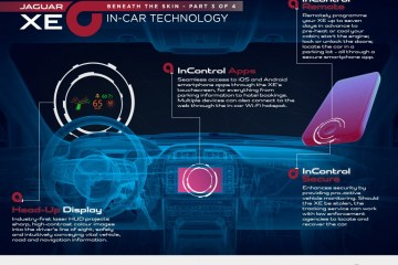 Jaguar XE in-car technology announced