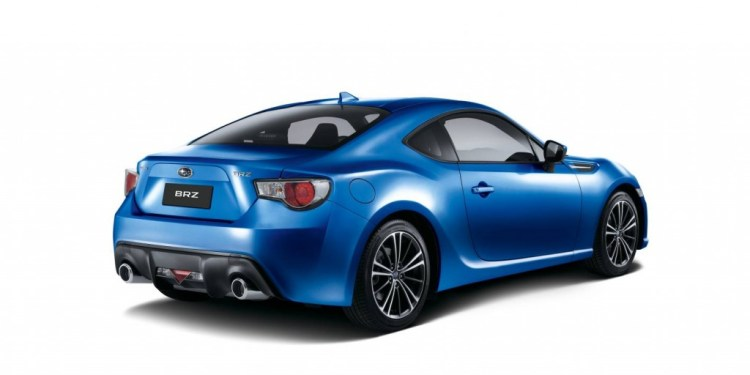 Subaru updates the BRZ