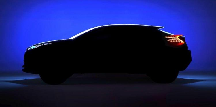 Toyota teases baby SUV C-HR concept