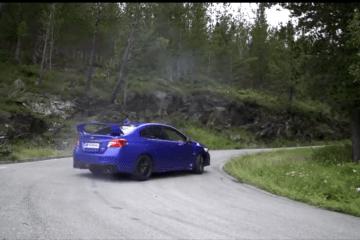 Subaru WRX STI in new Subaru Euope Ad