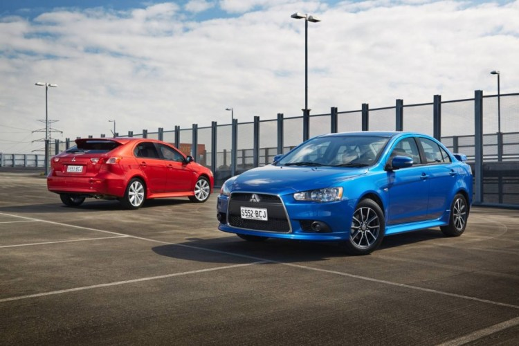Mitsubishi announces price cuts for 2015 Lancer range