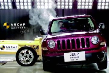 ANCAP awards Jeep Patriot five stars, slams Great wall v200