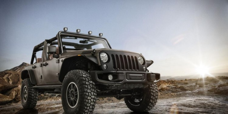 Jeep Wrangler Rubicon Stealth concept revealed