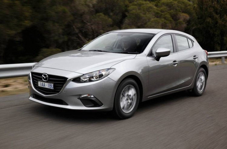 Mazda3 topped sales charts in September 2014