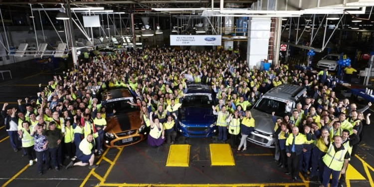Falcon FG X rolls off production line